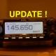 Radio met frequentie van de afdelingsronde (update)